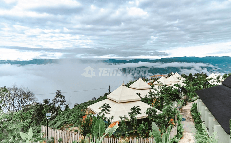 Glamping Resort – Borneo Kiim Resort