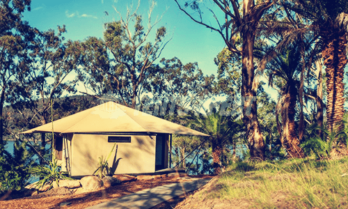 Eco-friendly Glamping Tent for Sunshine Coast