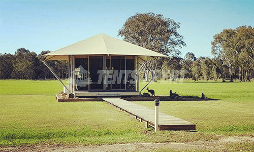 Eco Glamping Tent