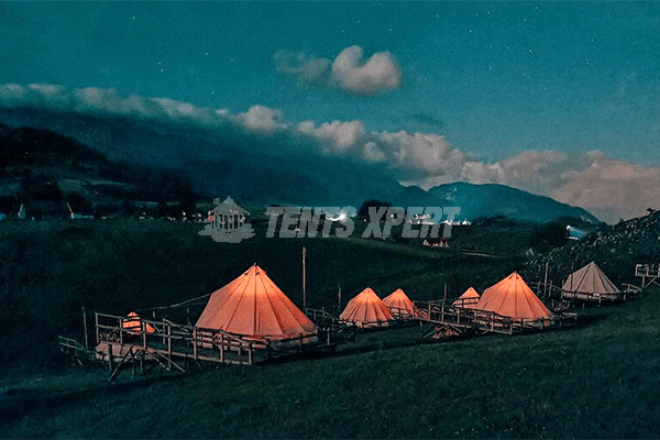 The Five Popular Glamping Sites In Romaina