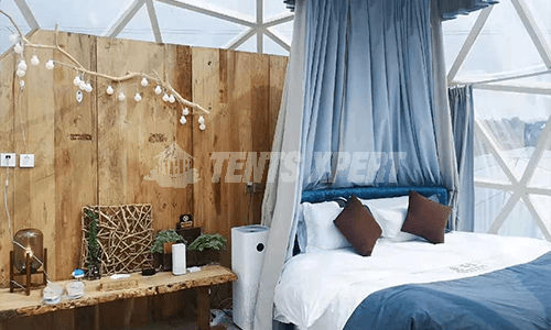 Glass Geodesic Dome Tent