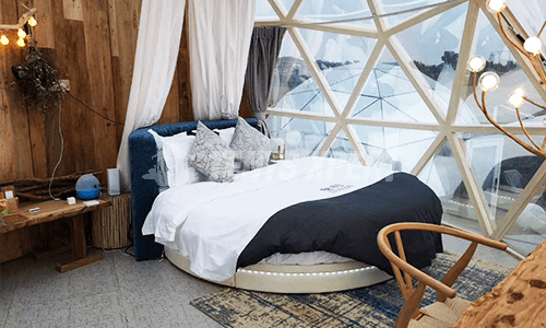 Glass Glamping Dome Tent
