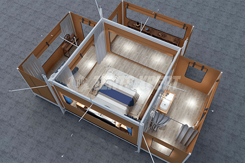 canvas glamping Tent Design 02
