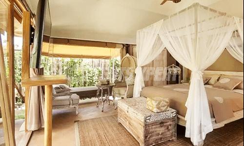 New Aman Resort Tent decoration