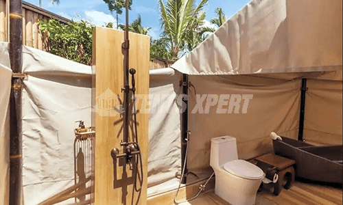 New Aman Glamping Tent with Bathroom