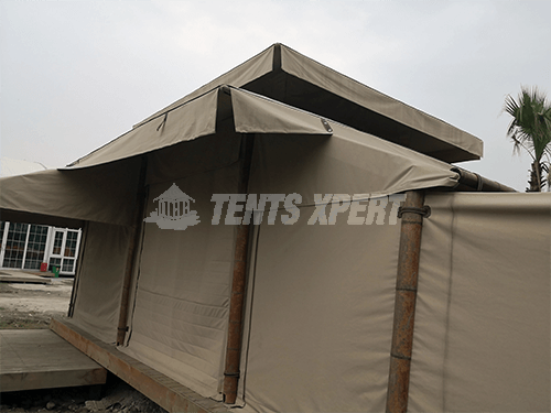 Canvas Glamping Tent Sidewall