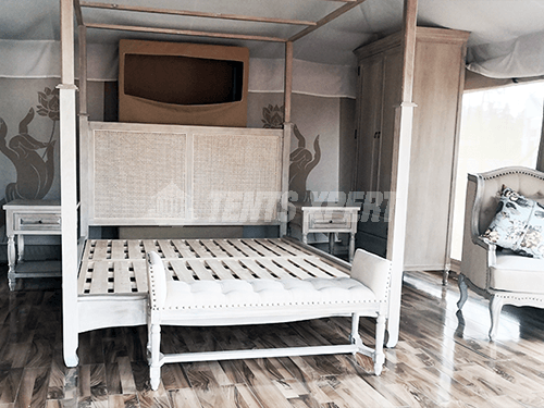 New Aman Glamping Tent Inner Furniture