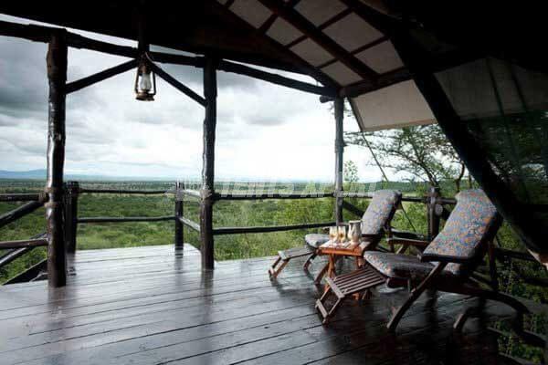 Luxury Tented Camp in Serengeti National Park, Tanzania