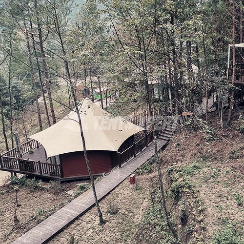 luxury Resort Lodge tents