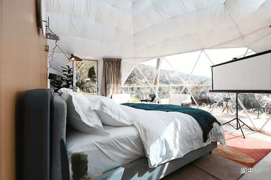 Glamping Dome Interior decoration - 02