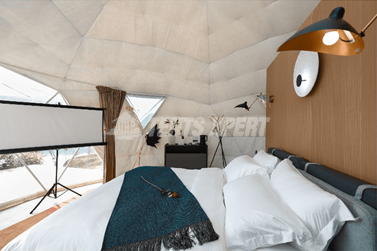 Glamping Dome Interior decoration - 03
