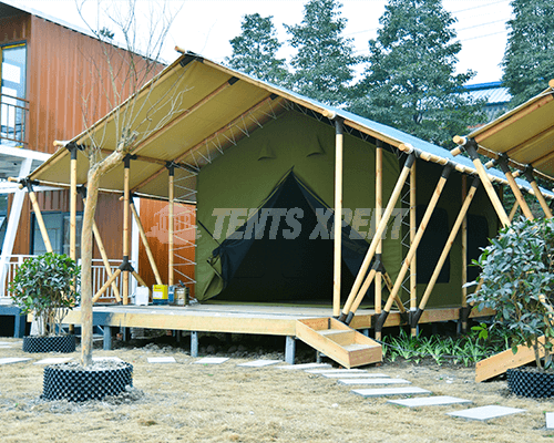 High-quality Safari Tent 02