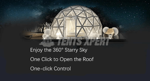 Glass Igloo Tent Features 01