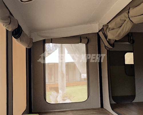 Canvas Glamping Tent inner