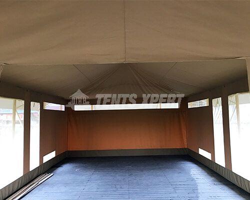 Large Canvas Safari Tents Inner