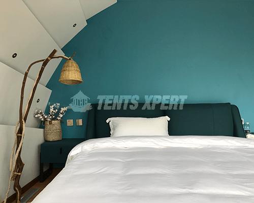 Cocoon House Tent bedroom 01