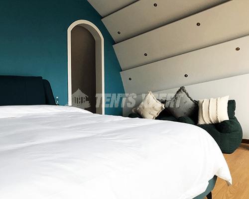 Cocoon House Tent bedroom 03