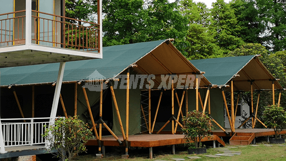 Canvas Safari Tent - African Tent L
